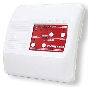 Контрольные приборы охранной сигнализации Исполнительное устройство