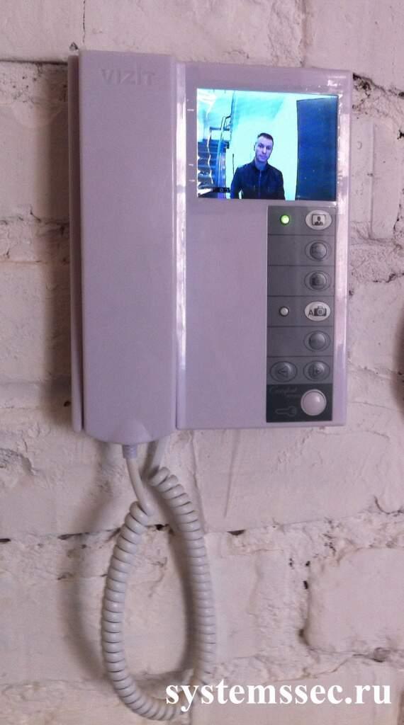 установка видеодомофона в квартиру цена спб Подснежник каждую